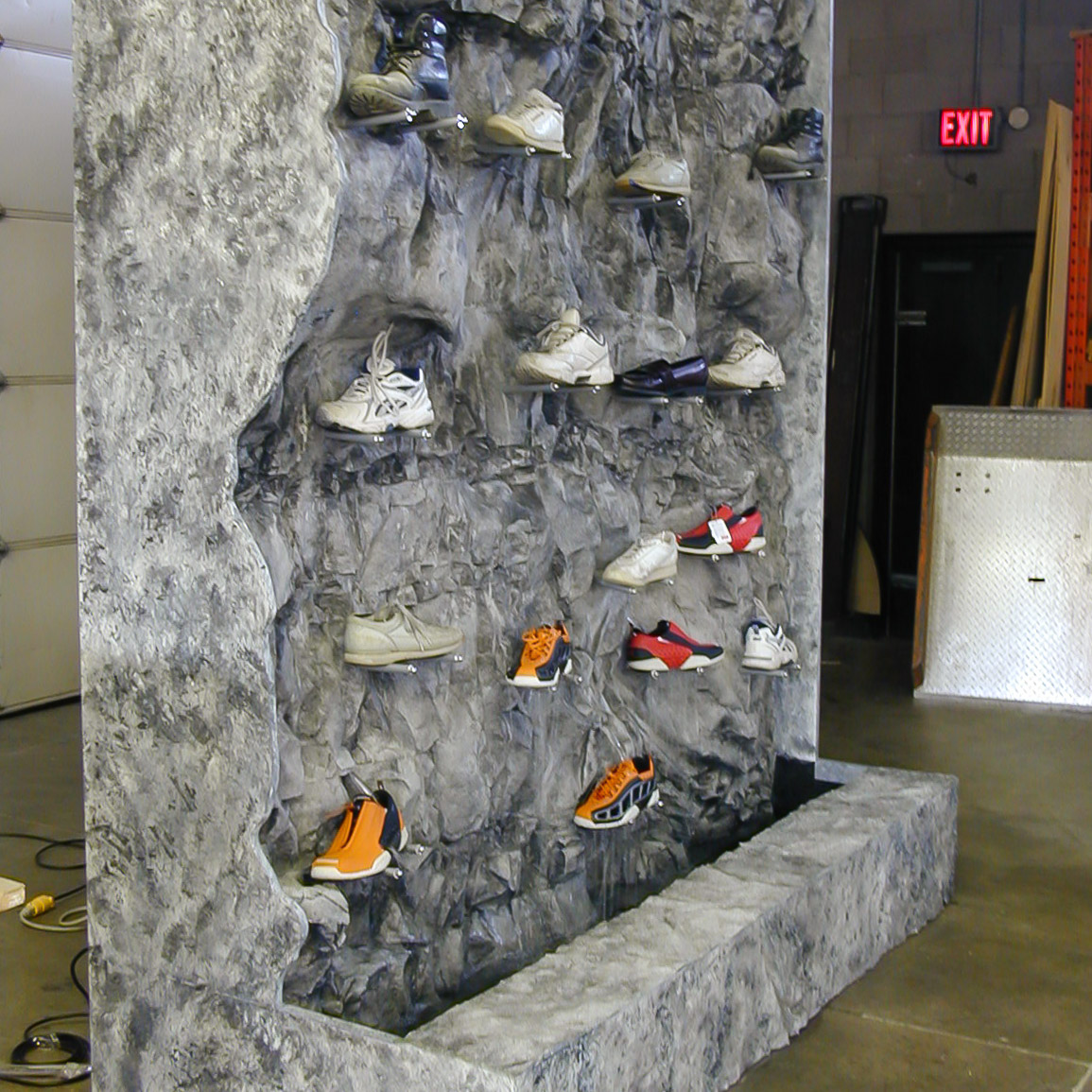 Replications Unlimited Fabricated Rock Wall